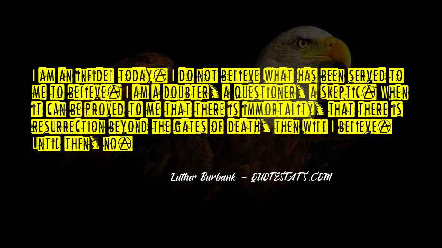 Quotes About Doubter #1198801