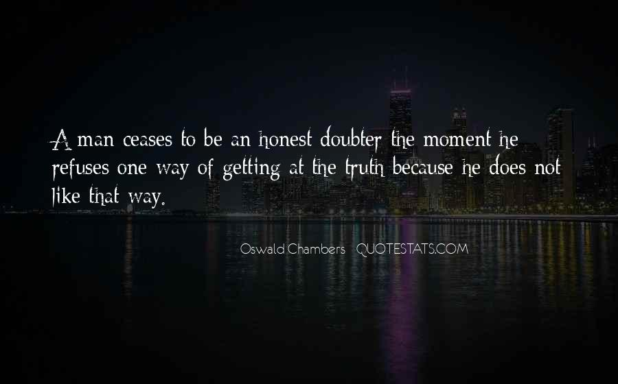 Quotes About Doubter #1611034