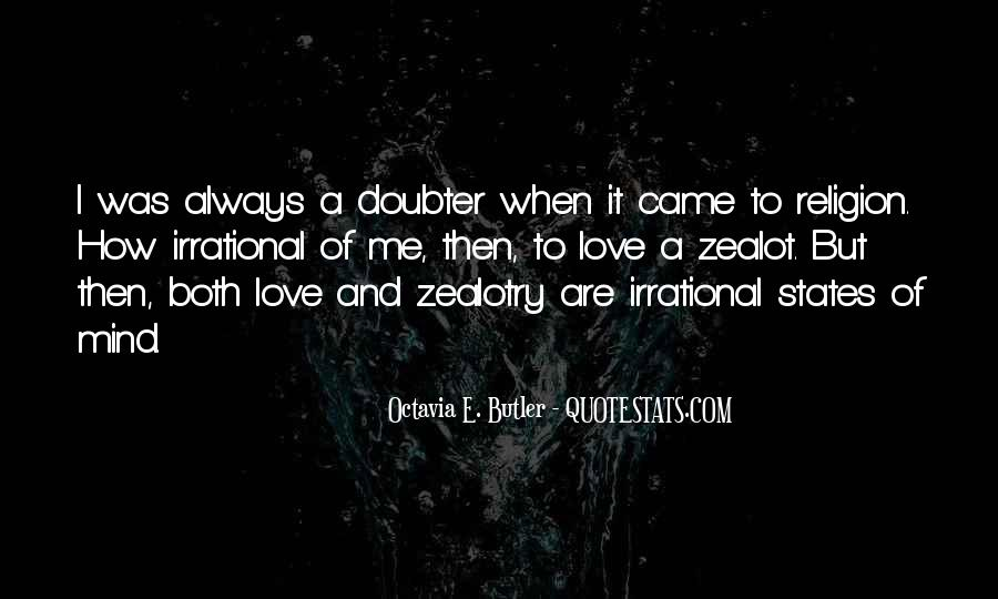 Quotes About Doubter #474712