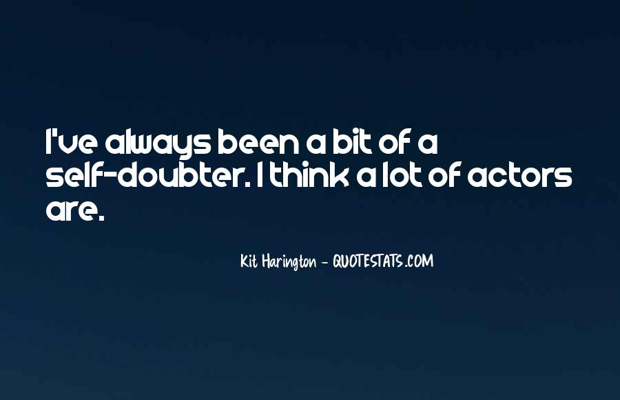 Quotes About Doubter #791172
