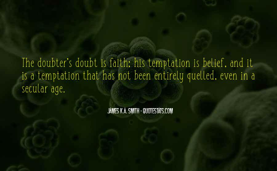 Quotes About Doubter #889333