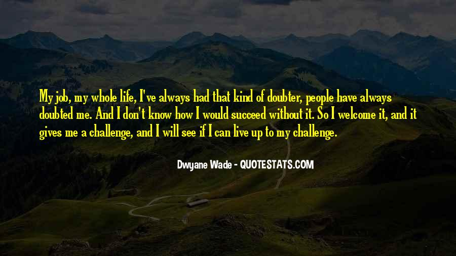 Quotes About Doubter #995117