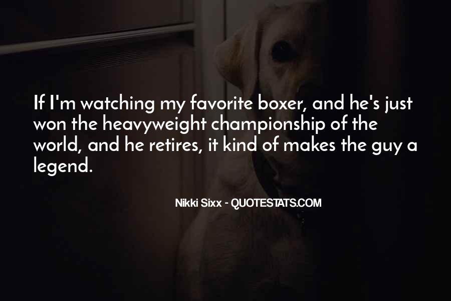 Legend Retires Quotes #1871134
