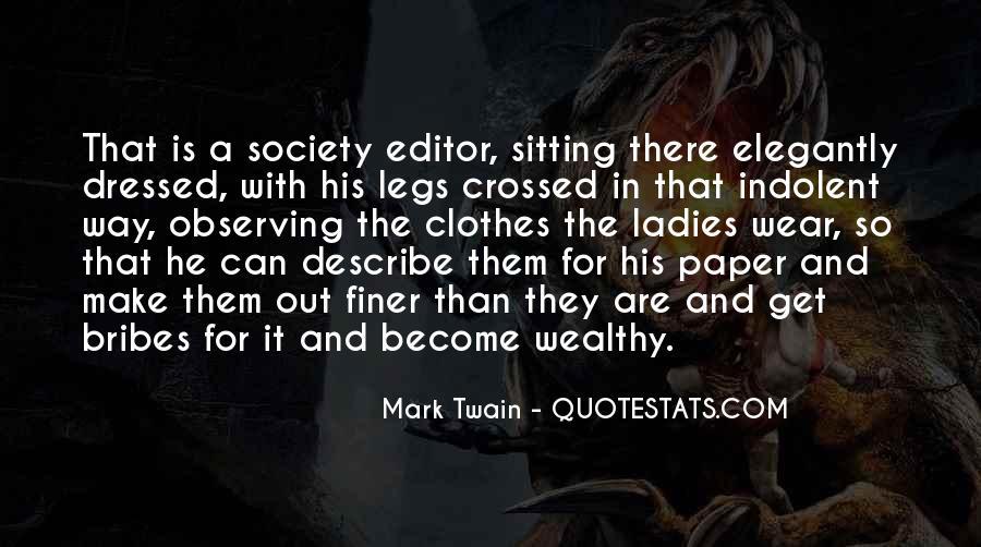 Legs Crossed Quotes #1509664