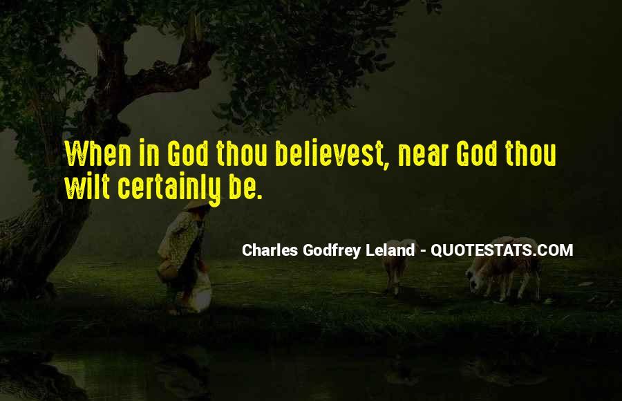 Leland Quotes #375577