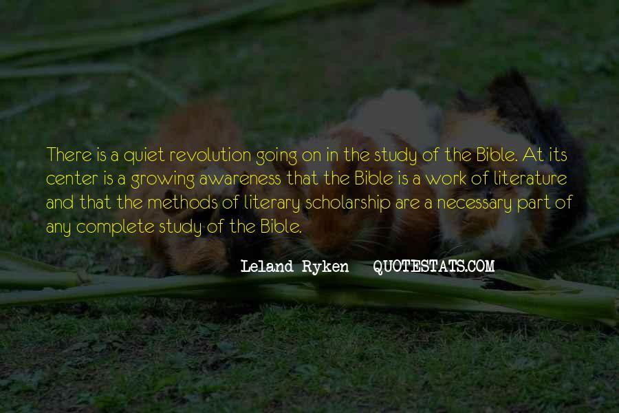 Leland Quotes #385425