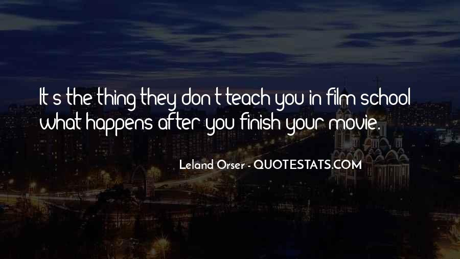 Leland Quotes #395450