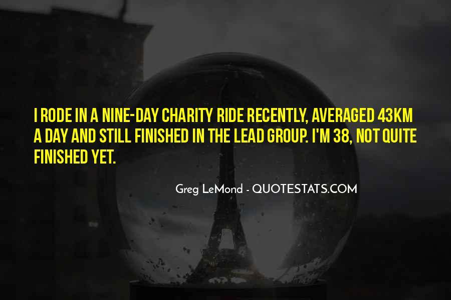 Lemond Quotes #935554