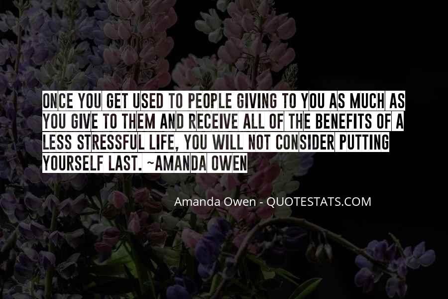 Less Stressful Quotes #491965