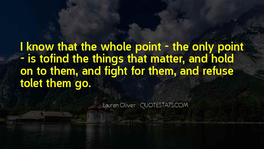 Let Go Hold On Quotes #1640506