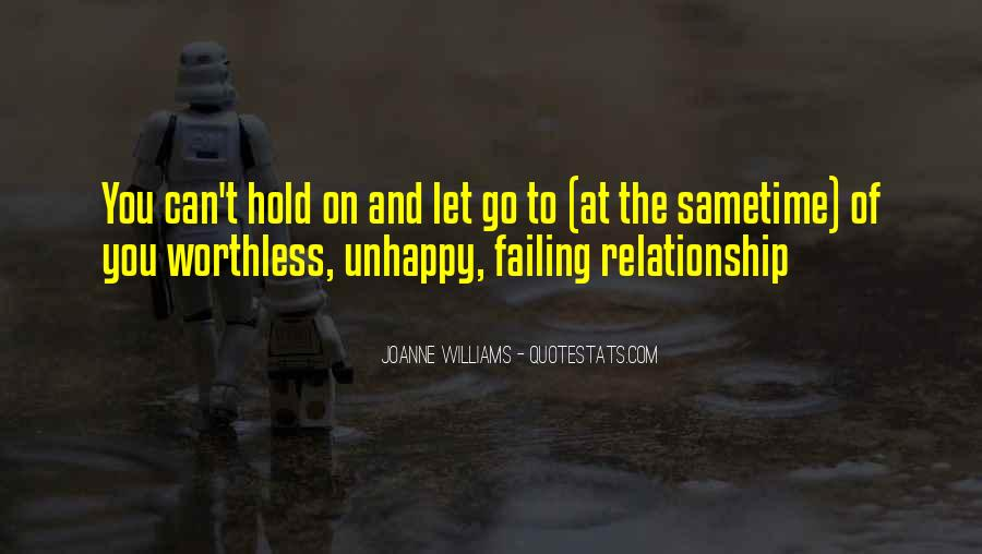 Let Go Hold On Quotes #1686966
