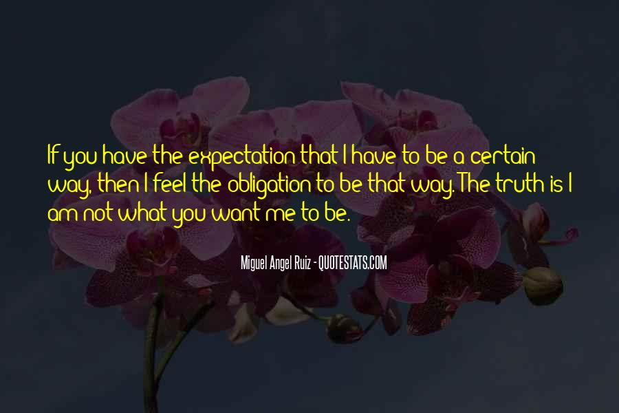 Let Go Of Expectations Quotes #11463