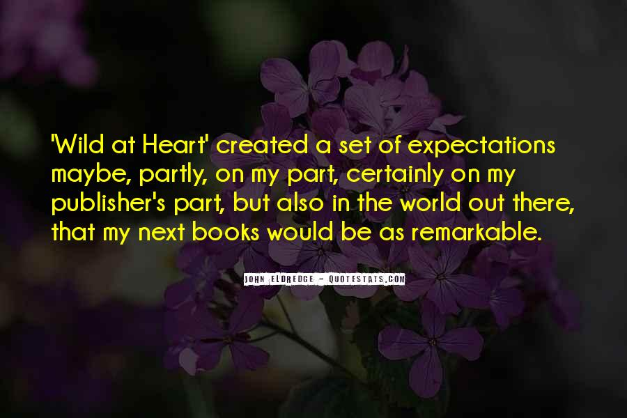Let Go Of Expectations Quotes #12959