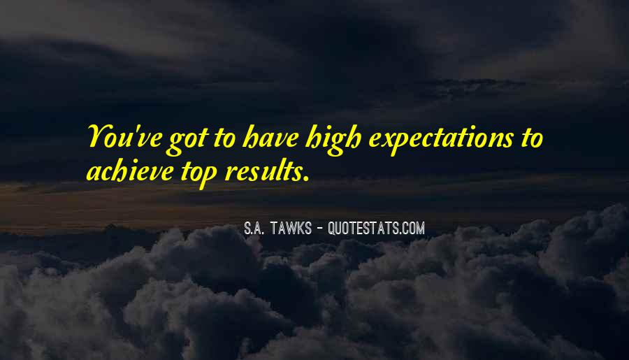 Let Go Of Expectations Quotes #17849