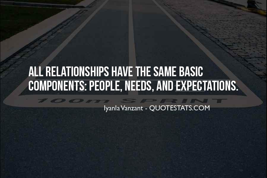 Let Go Of Expectations Quotes #18158