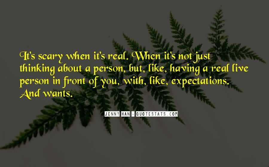 Let Go Of Expectations Quotes #19251