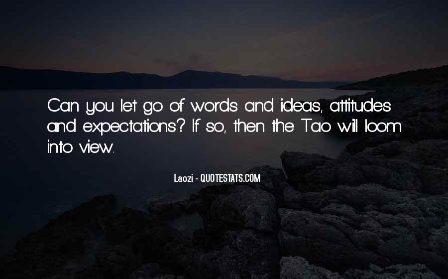 Let Go Of Expectations Quotes #233770