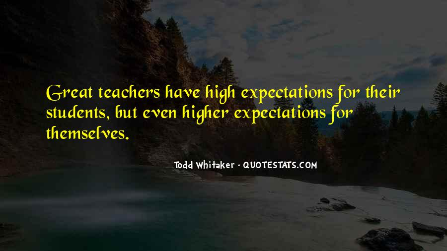 Let Go Of Expectations Quotes #23859