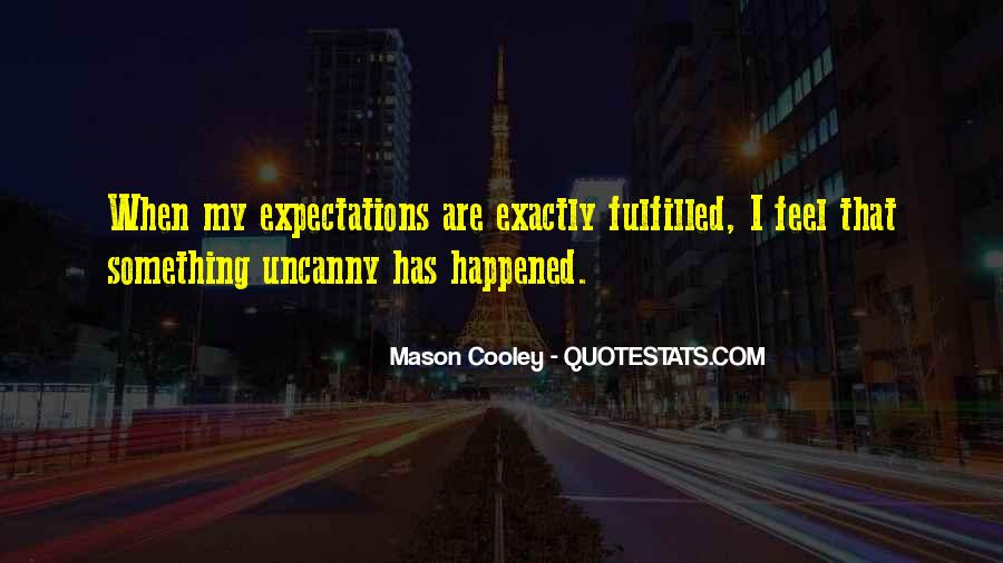 Let Go Of Expectations Quotes #27435
