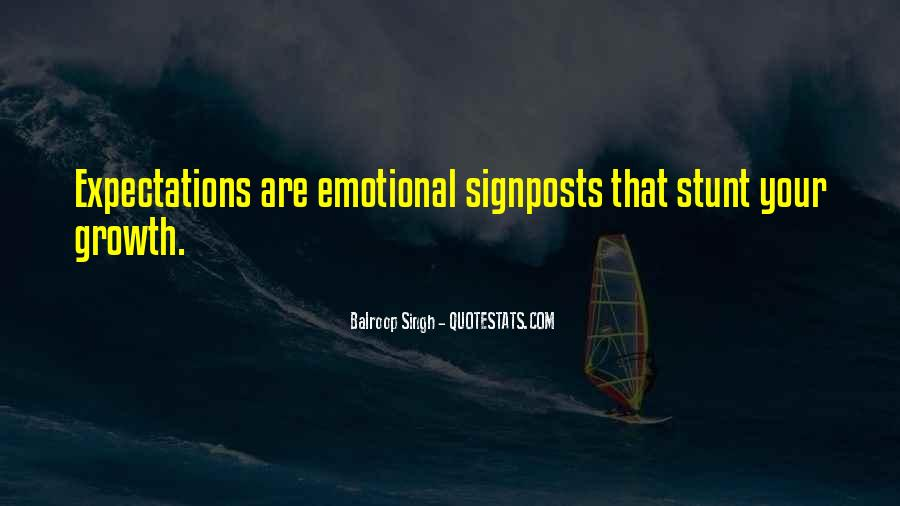 Let Go Of Expectations Quotes #30545
