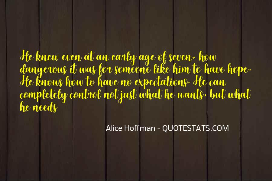 Let Go Of Expectations Quotes #31005