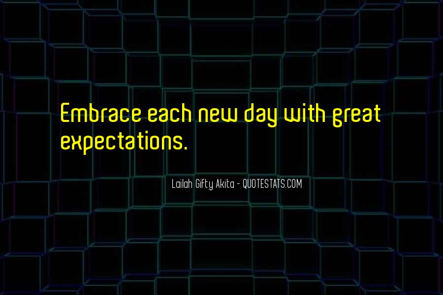 Let Go Of Expectations Quotes #37543