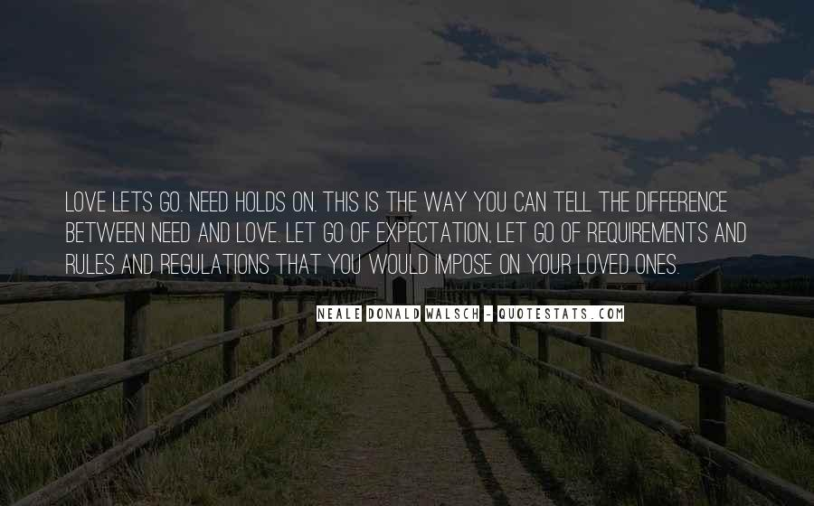 Let Go Of Expectations Quotes #93500