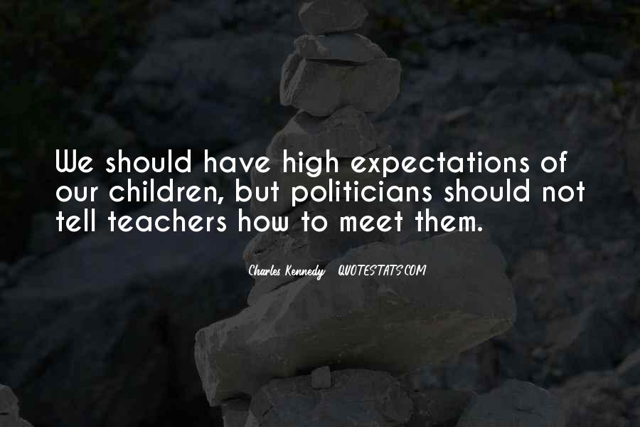 Let Go Of Expectations Quotes #9374