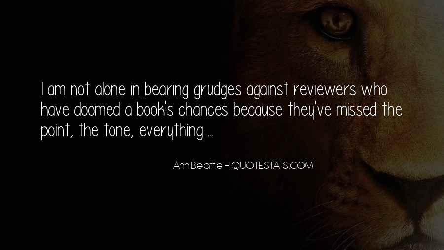 Let Go Of Grudges Quotes #104286