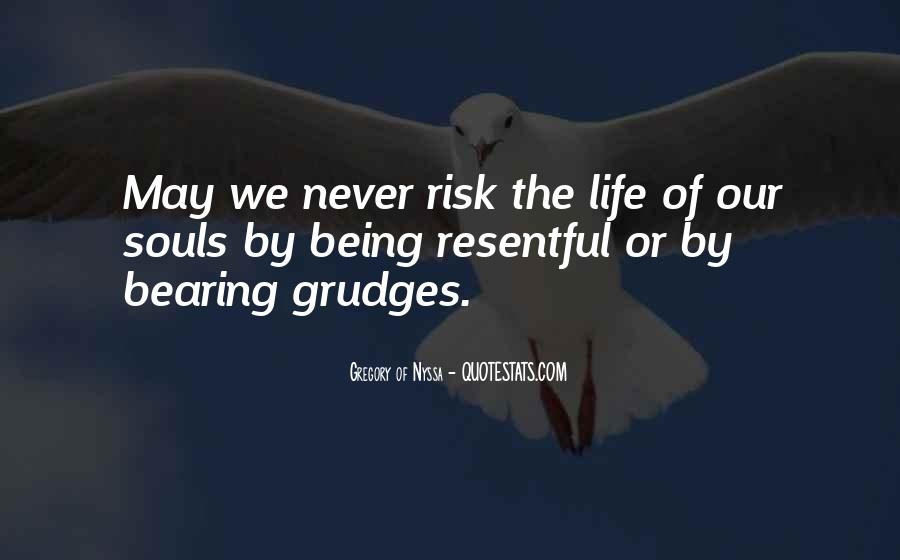 Let Go Of Grudges Quotes #152042