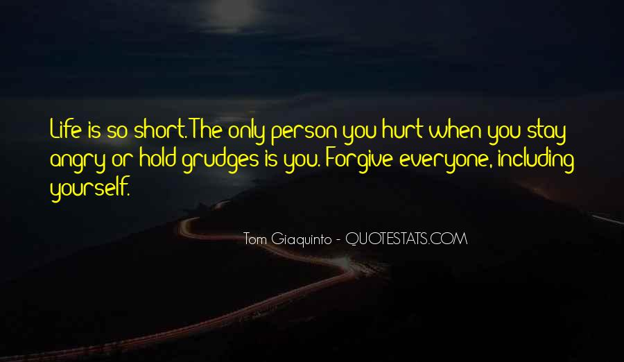 Let Go Of Grudges Quotes #199783