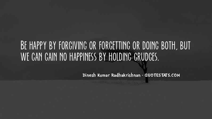 Let Go Of Grudges Quotes #220490