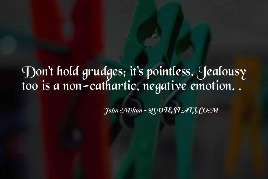 Let Go Of Grudges Quotes #243782