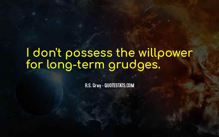 Let Go Of Grudges Quotes #254535