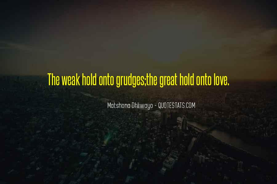 Let Go Of Grudges Quotes #260575
