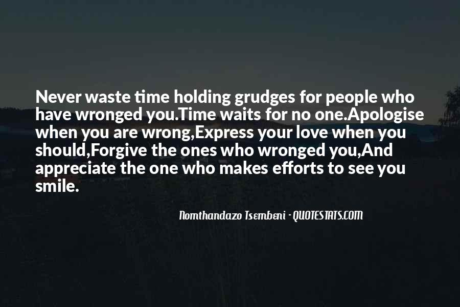 Let Go Of Grudges Quotes #298022