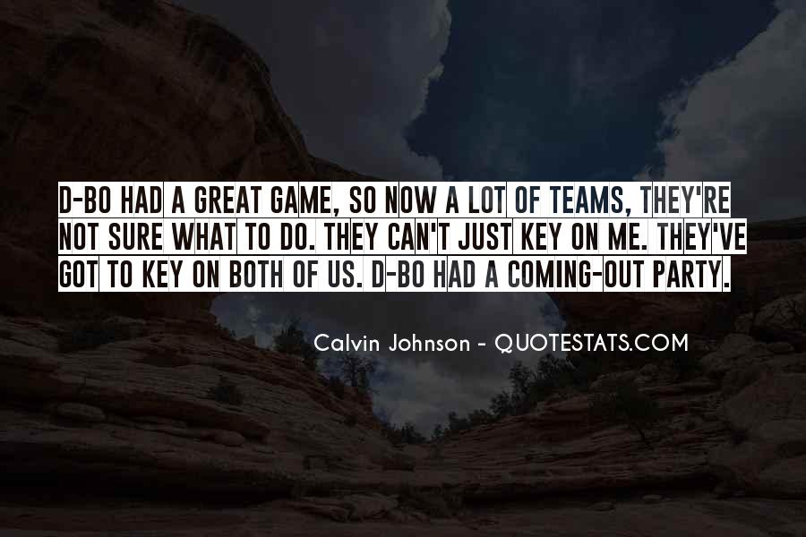 Let Go Team Quotes #8825