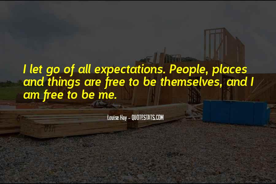 Let Me Free Quotes #156412