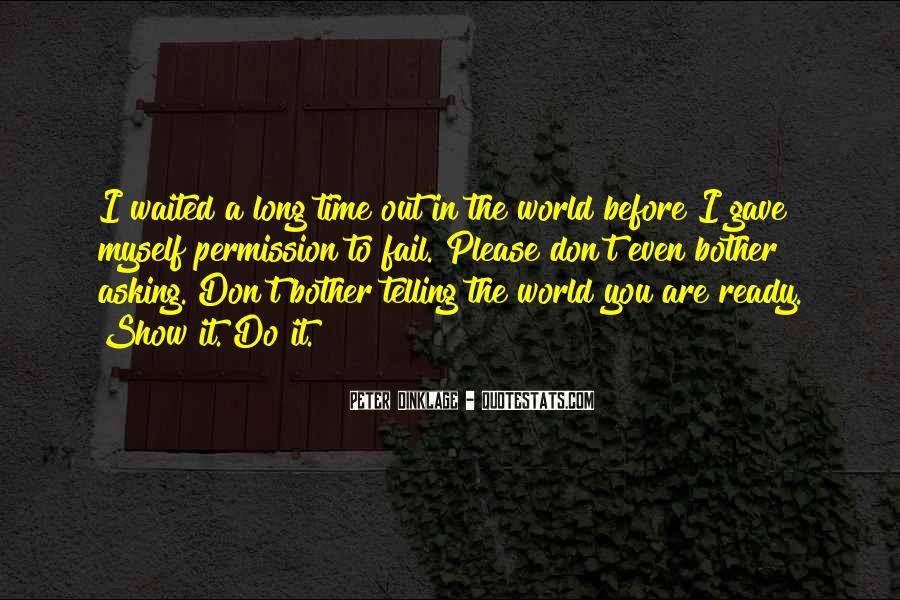 Let Me Show You The World Quotes #45422