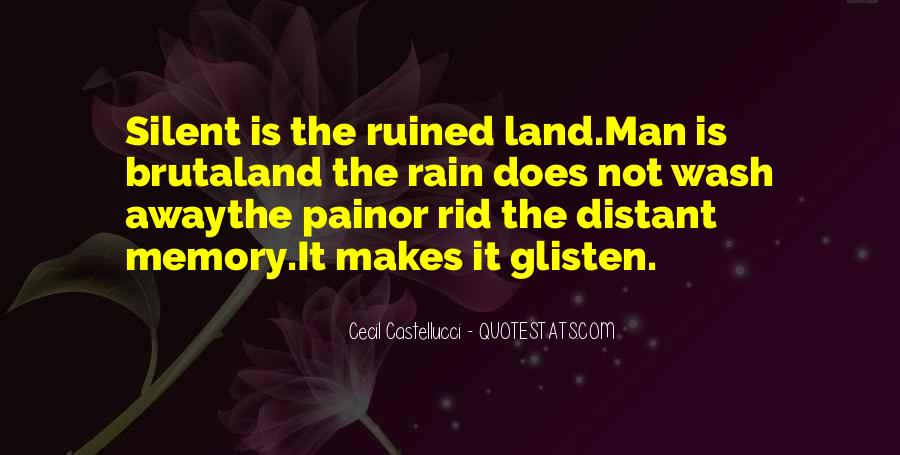 Let The Rain Wash Away Quotes #1054941