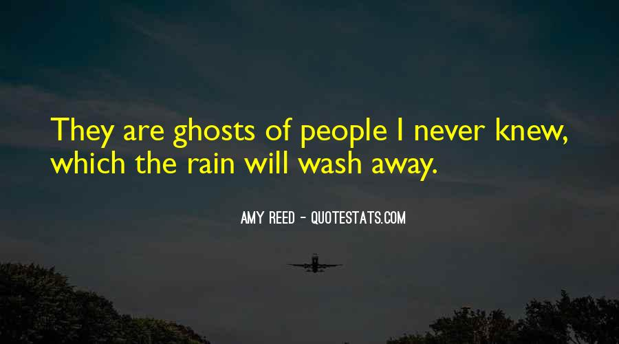 Let The Rain Wash Away Quotes #807841