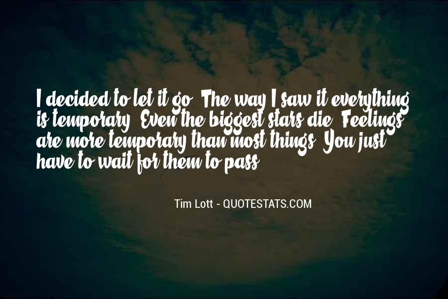 Let Them Go Quotes #181247