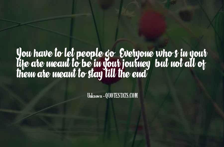 Let Them Go Quotes #249019