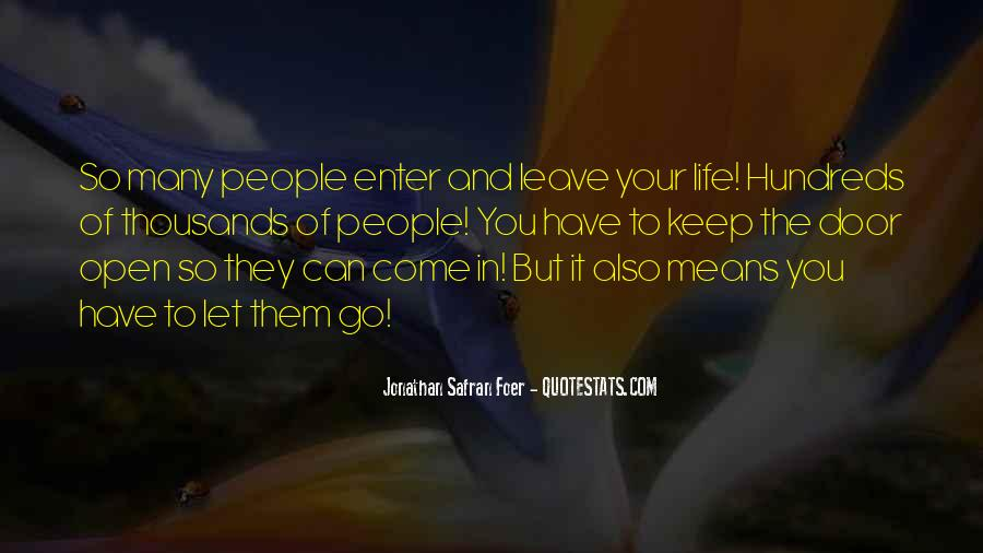 Let Them Go Quotes #337526