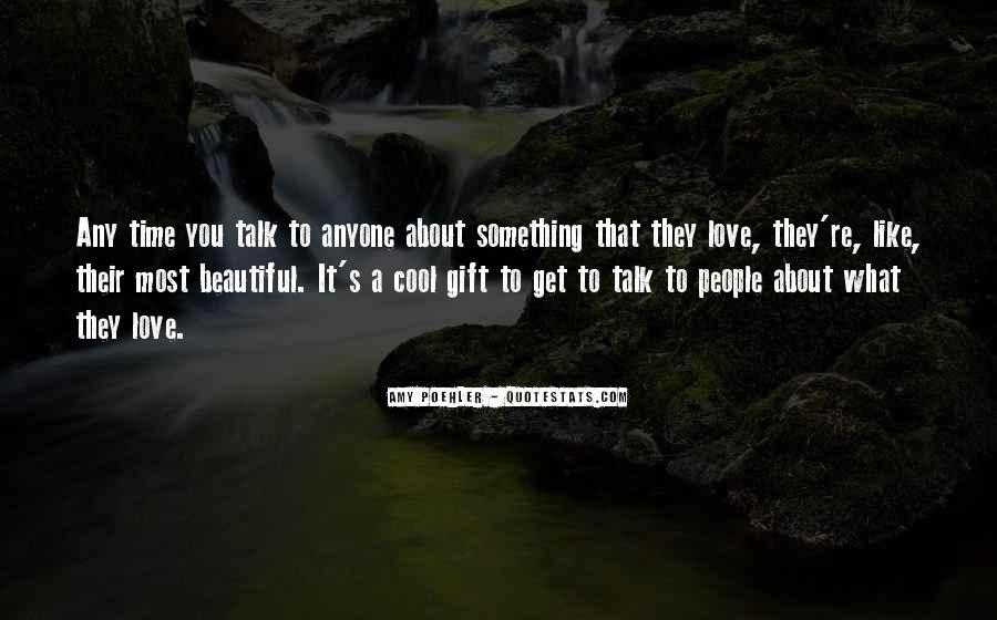 Let Them Talk About Us Quotes #6444