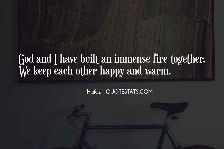Let Us Be Happy Together Quotes #277053