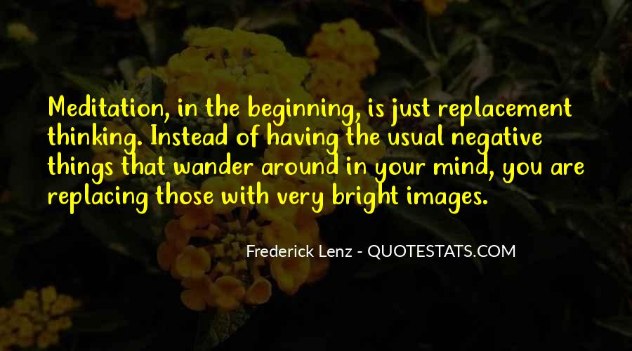 Let Your Mind Wander Quotes #941746
