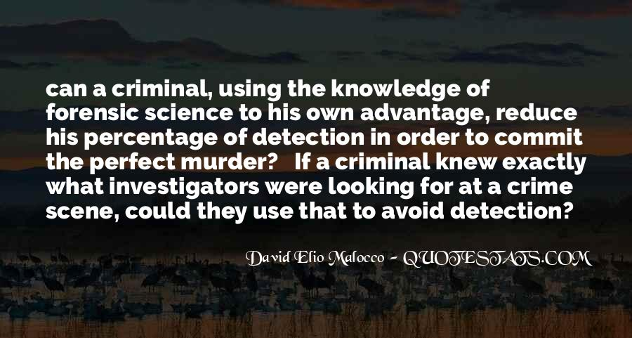 Let's Commit Perfect Crime Quotes #292756