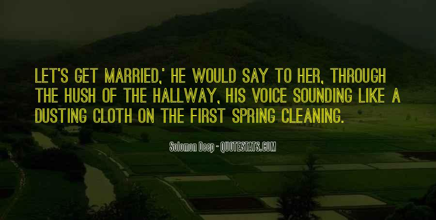 Let's Get Married Quotes #1340014