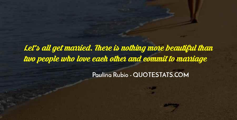 Let's Get Married Quotes #1351782